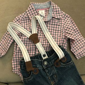 Carter's Overalls Outfit
